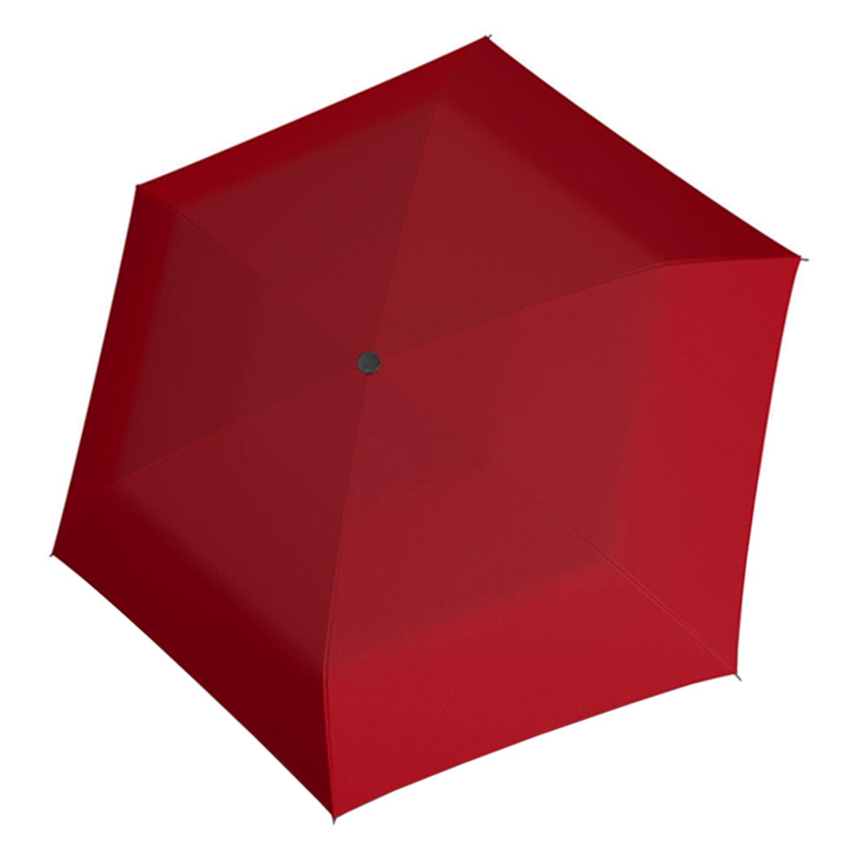 Doppler Carbonsteel mini slim uni Paraplu red (Storm) Paraplu