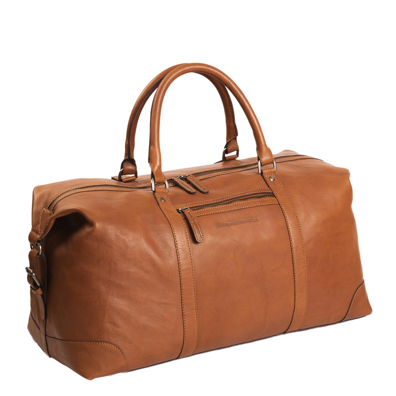 The Chesterfield Brand Caleb Reistas cognac Weekendtas <br/></noscript><img class=