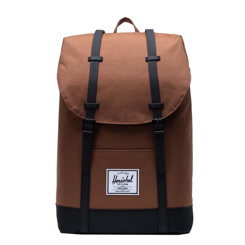 Herschel Supply Co. Retreat Rugzak saddle brown-black