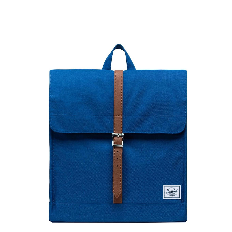 Herschel Supply Co. City Mid-Volume Rugzak monaco blue crosshatch