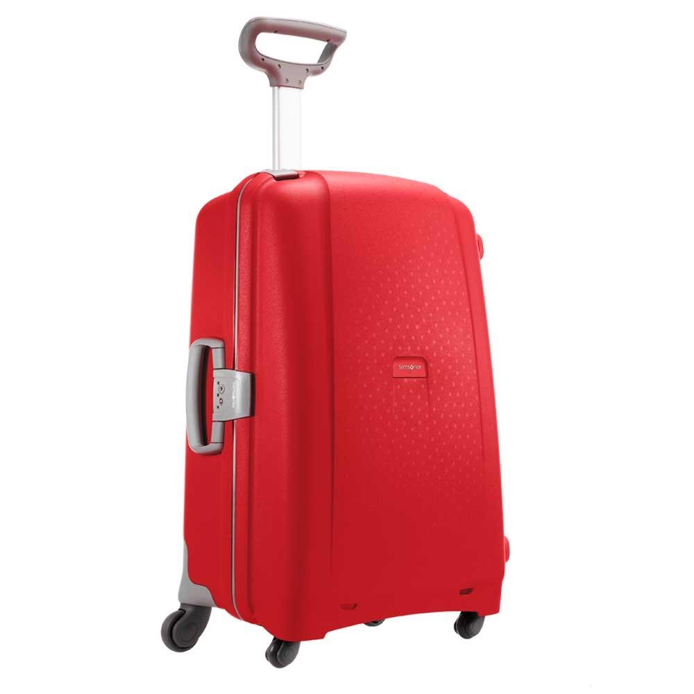 Samsonite Aeris Spinner 75 red Harde Koffer