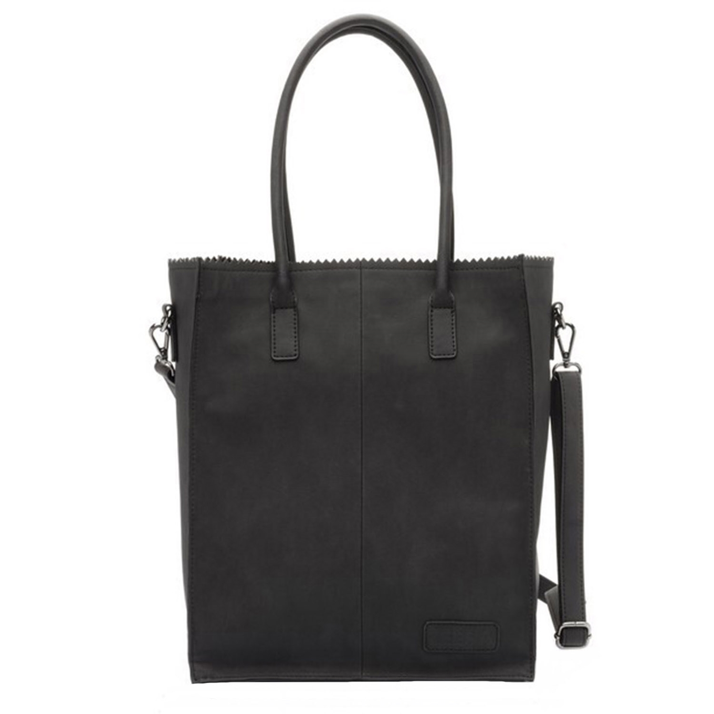 Zebra Trends Natural Bag Rosa Shopper black2