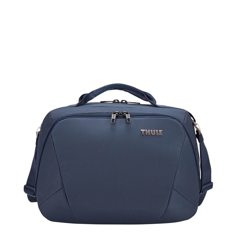 Thule Crossover 2 Boarding Bag dress blue Weekendtas <br/>€ 99.00 <br/> <a href='https://tc.tradetracker.net/?c=15082&m=779702&a=107398&u=http%3A%2F%2Fwww.travelbags.nl%3A80%2Fthule-crossover-2-boarding-bag-dress-blue.html' target='_blank'>Bestellen</a>