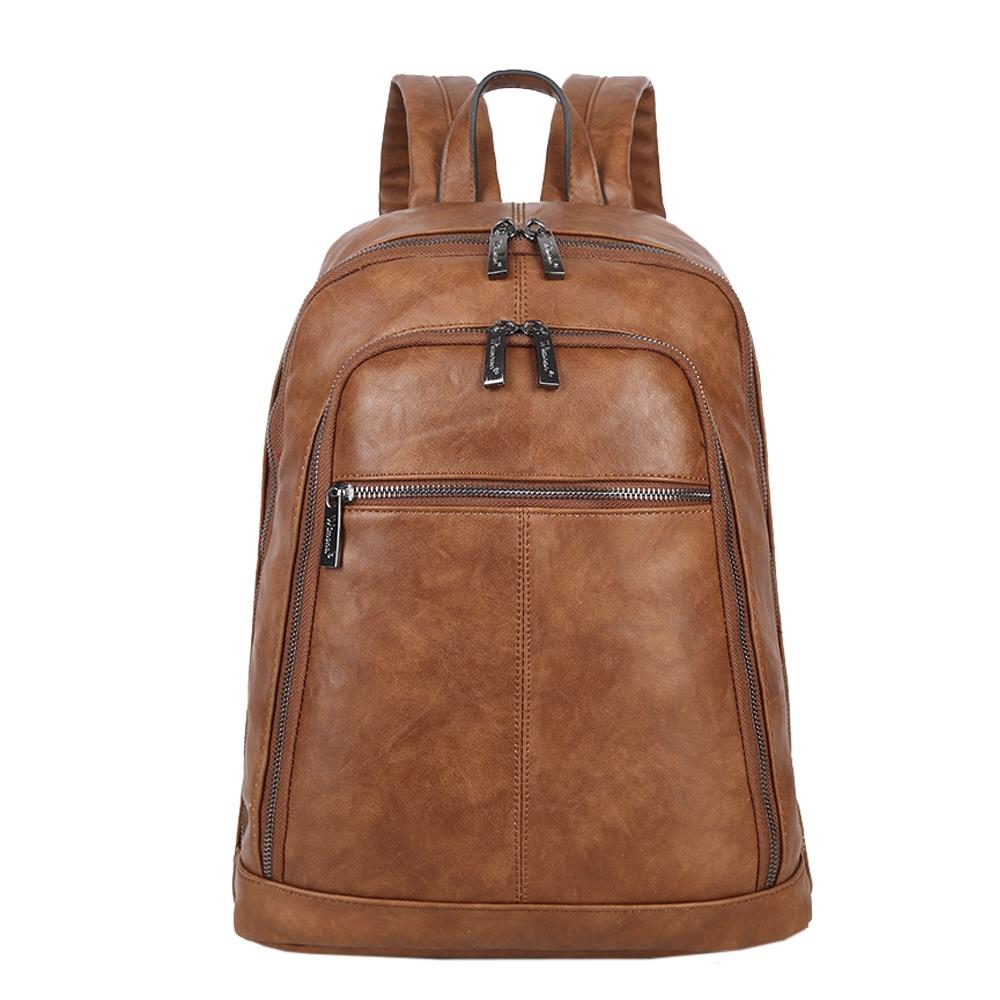 Wimona Silvina Rugzak cognac backpack