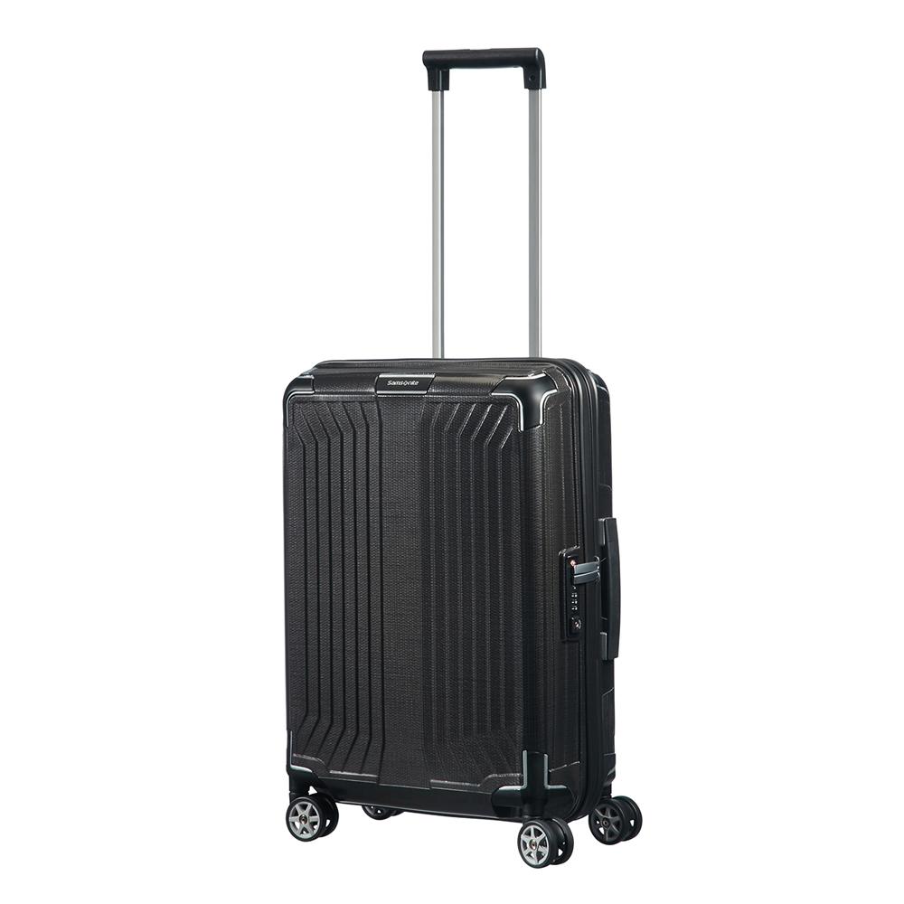 Samsonite Lite-Box Spinner 55 black Harde Koffer