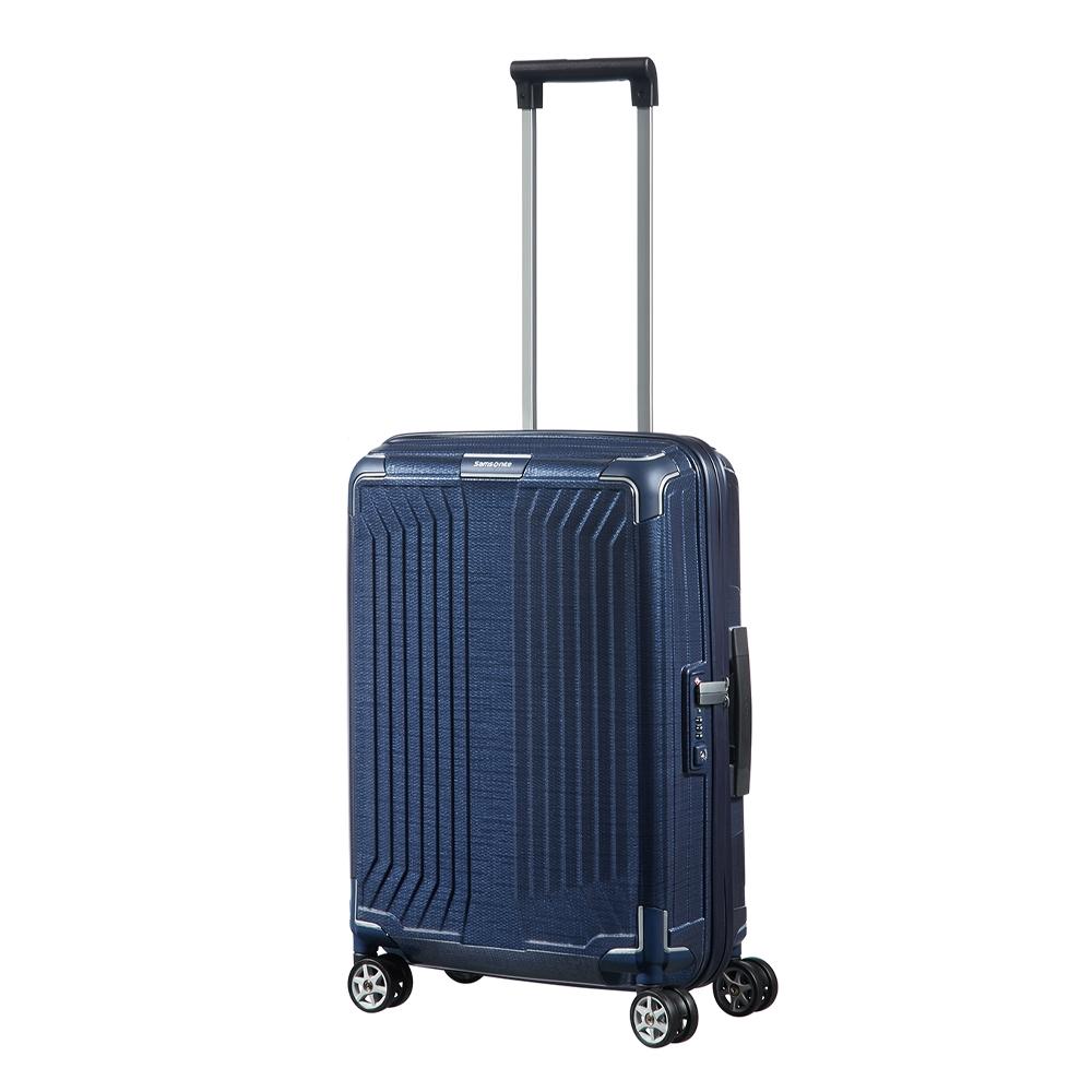 Samsonite Lite-Box Spinner 55 deep blue Harde Koffer <br/></noscript><img class=