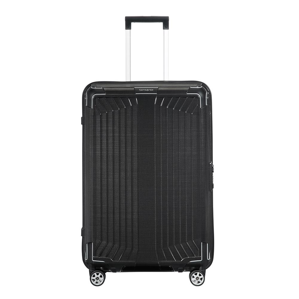 Samsonite Lite-Box Spinner 69 black Harde Koffer <br/></noscript><img class=