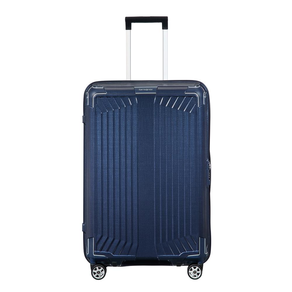 Samsonite Lite-Box Spinner 69 deep blue Harde Koffer <br/></noscript><img class=