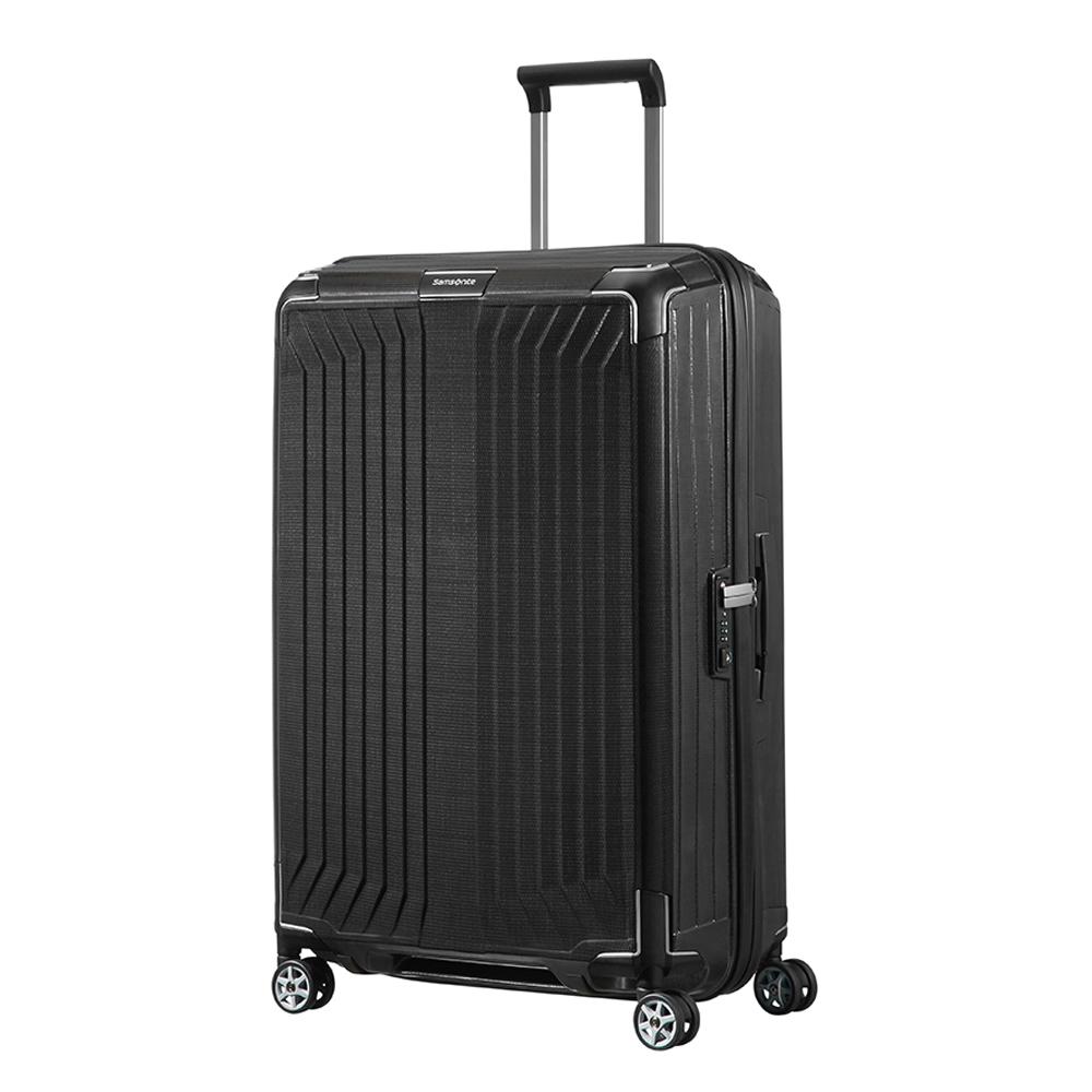 Samsonite Lite-Box Spinner 75 black Harde Koffer <br/></noscript><img class=