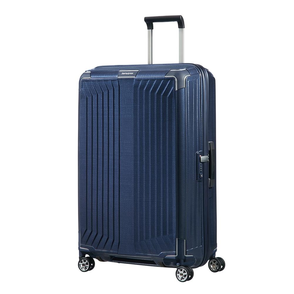 Samsonite Lite-Box Spinner 75 deep blue Harde Koffer <br/></noscript><img class=
