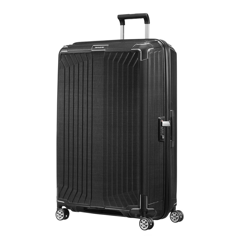 Samsonite Lite-Box Spinner 81 black Harde Koffer <br/></noscript><img class=