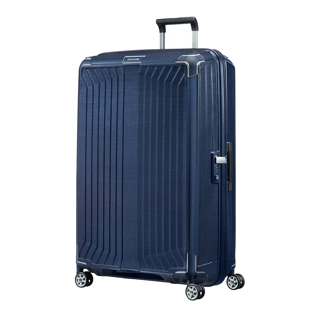 Samsonite Lite-Box Spinner 81 deep blue Harde Koffer <br/></noscript><img class=