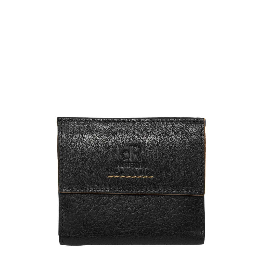 dR Amsterdam Icon Billfold 5 CC black - 1