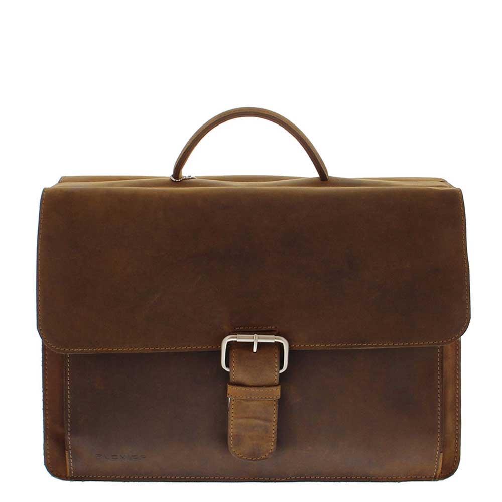 Plevier 553-2 laptoptas 15.6'' bruin