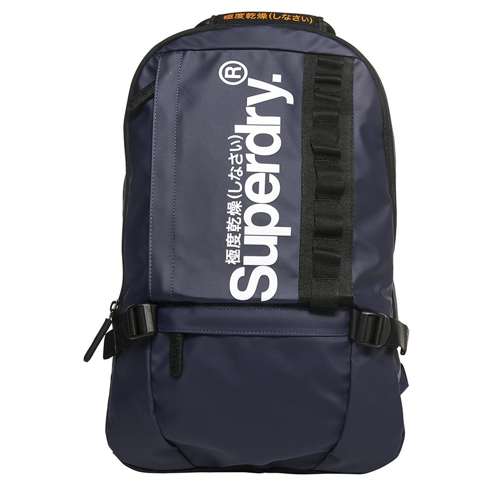 Superdry Tarp Slim Line Backpack dark navy backpack