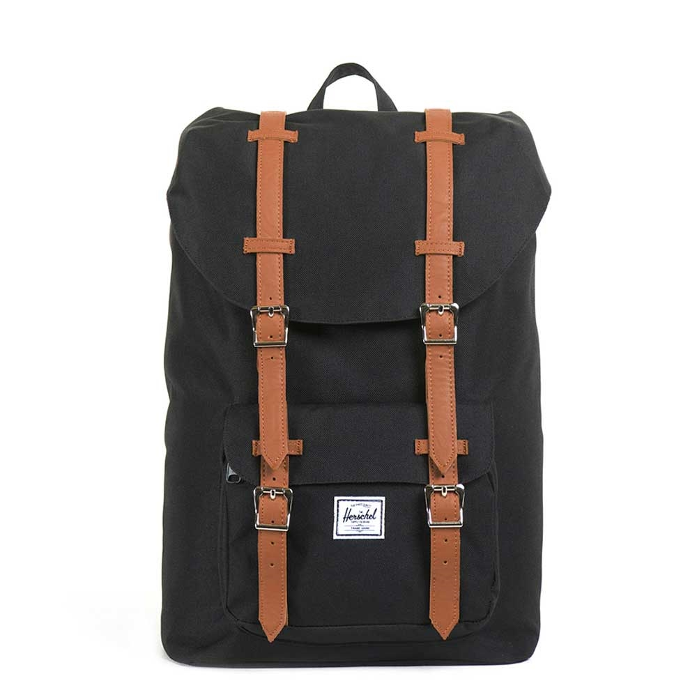 Herschel Little America Mid-Volume Black-Tan PU