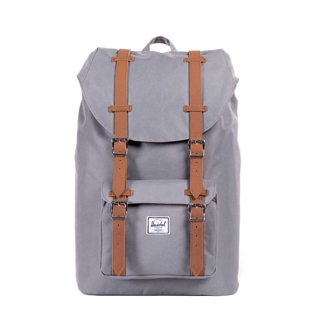 Herschel Little America Mid-Volume Grey-Tan PU