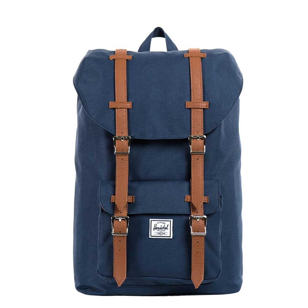 Herschel Little America Mid-Volume Navy-Tan PU