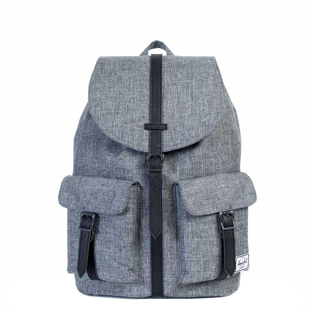 Herschel Supply Co. Dawson Rugzak raven crosshatch/black backpack