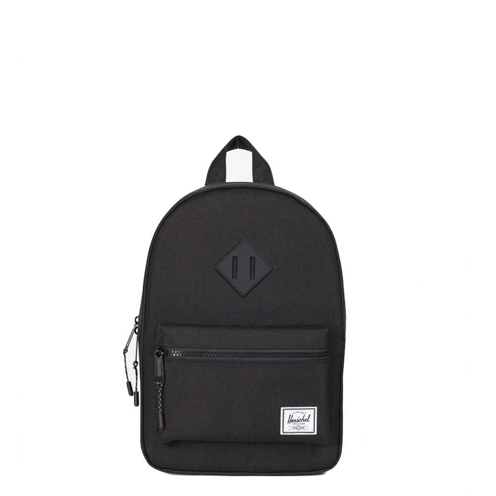 Herschel Supply Co. Heritage Kids Rugzak black / black rubber Kindertas