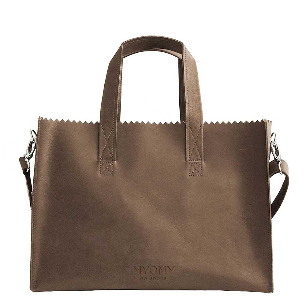 MYOMY Luiertassen My Paper Bag Baby Bruin