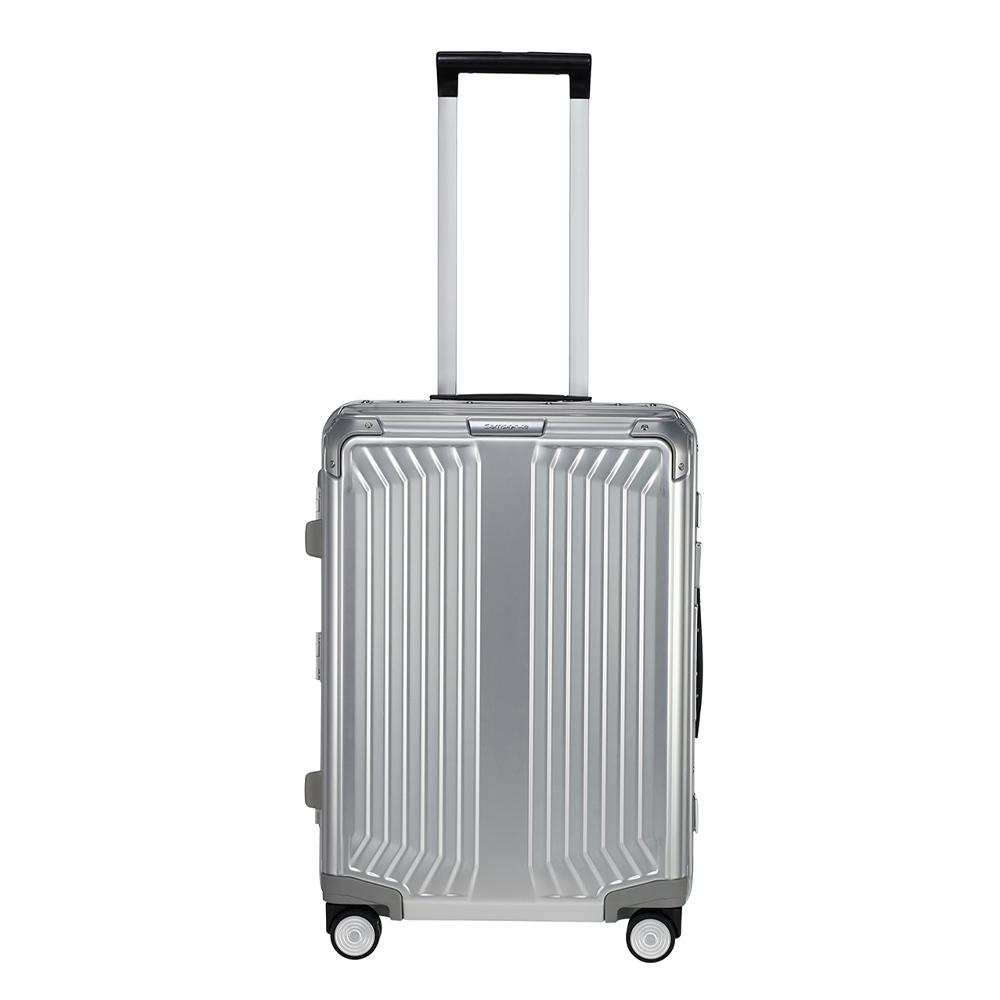 Samsonite Lite-Box Alu Spinner 55 aluminium Harde Koffer <br/></noscript><img class=