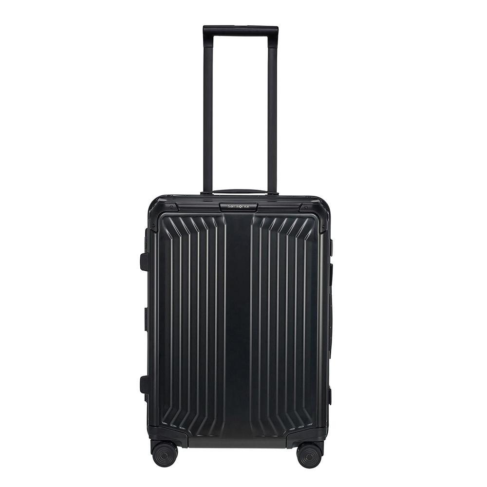 Samsonite Lite-Box Alu Spinner 55 black Harde Koffer <br/></noscript><img class=