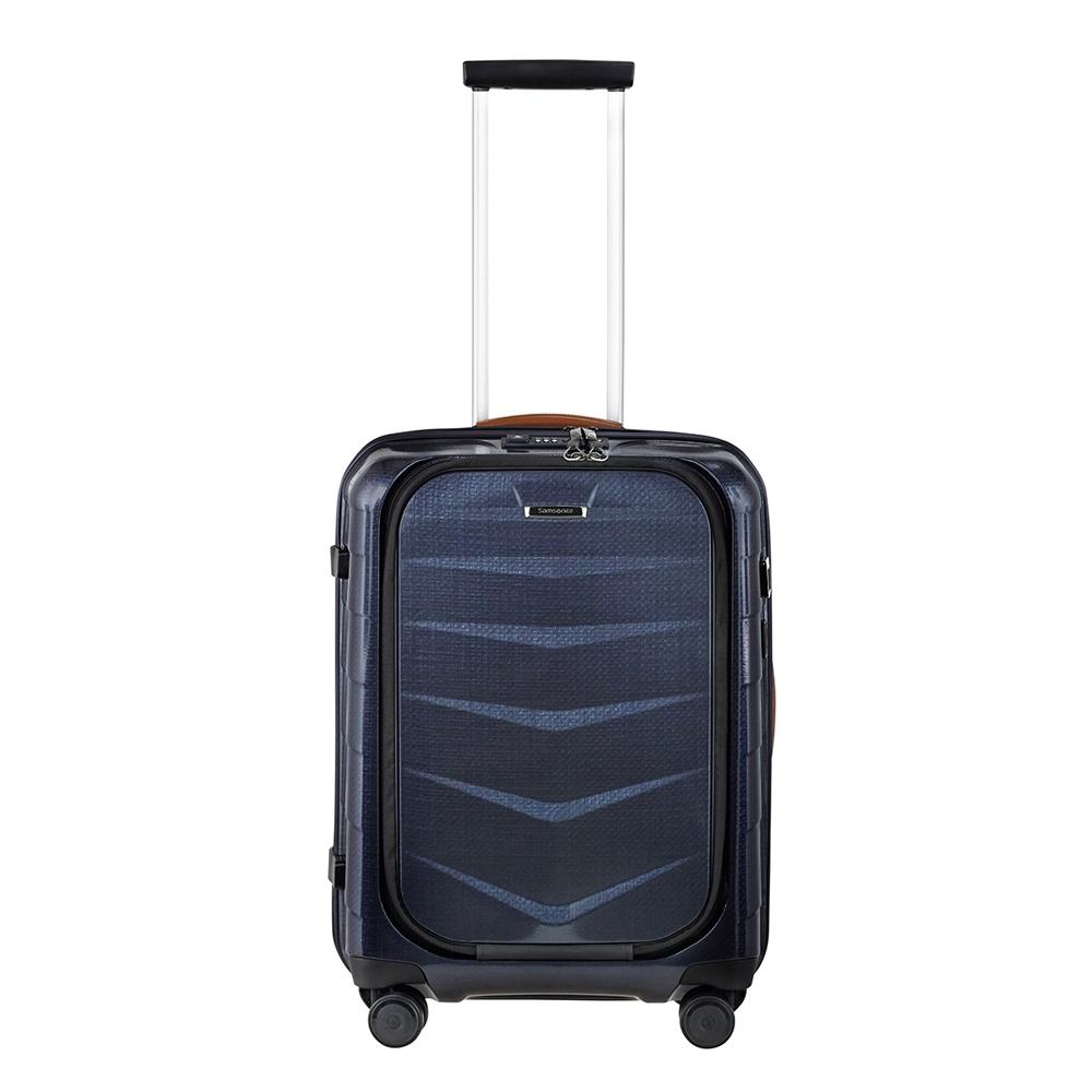 Samsonite Lite-Biz Spinner 55 USB midnight blue Harde Koffer <br/></noscript><img class=