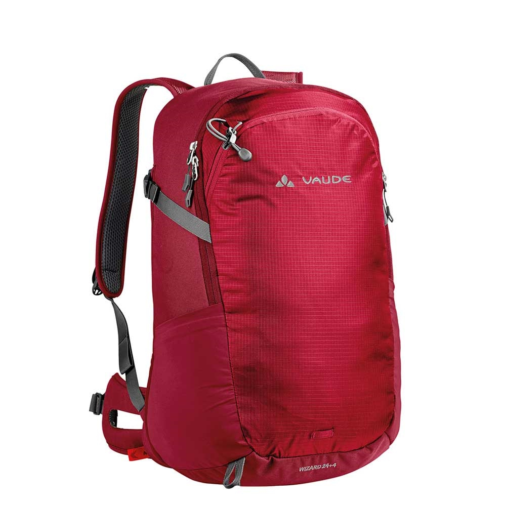 Vaude Wizard 24+4 Rugzak indian red backpack