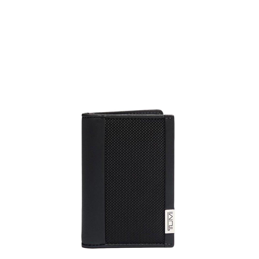 Tumi Alpha SLG Multiwindow Card Case black chrome Heren portemonnee <br/></noscript><img class=