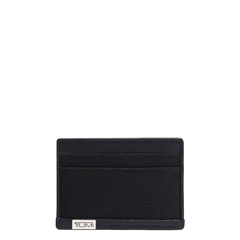 Tumi Alpha SLG Slim Card Case black chrome Heren portemonnee <br/></noscript><img class=