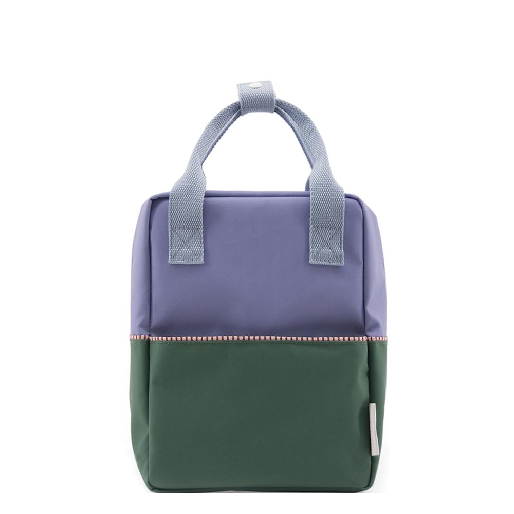 Sticky Lemon Colourblocking Backpack Small moustafa purple - henckles blue - movie green Kindertas