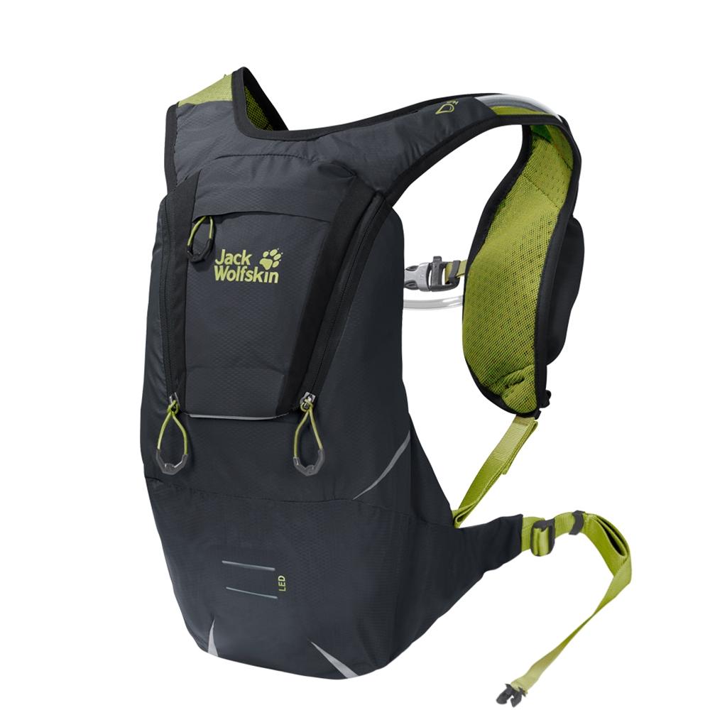 Jack Wolfskin Crosstrail 6 Rugzak ebony backpack
