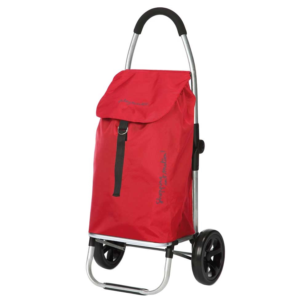Playmarket Go Two Compact Boodschappentrolley red Trolley