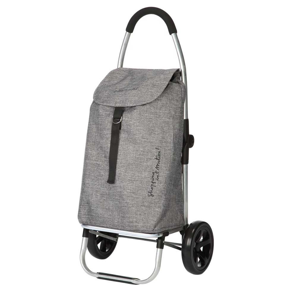 Playmarket Go Two Compact Boodschappentrolley textured Trolley