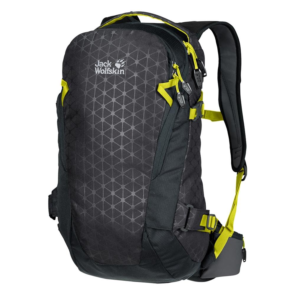 Jack Wolfskin Kamui 24 Pack ebony grid backpack