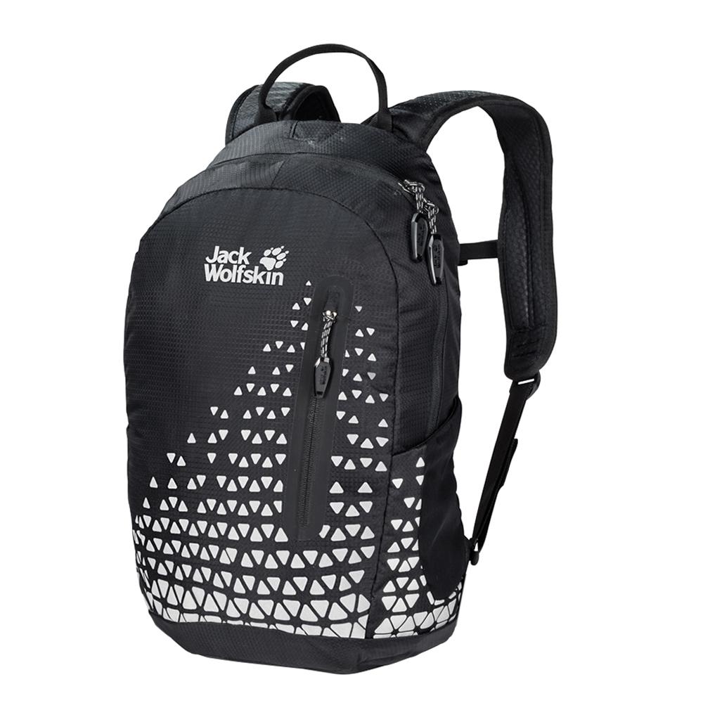 Jack Wolfskin Nighthawk 12 Pack reflective grid backpack