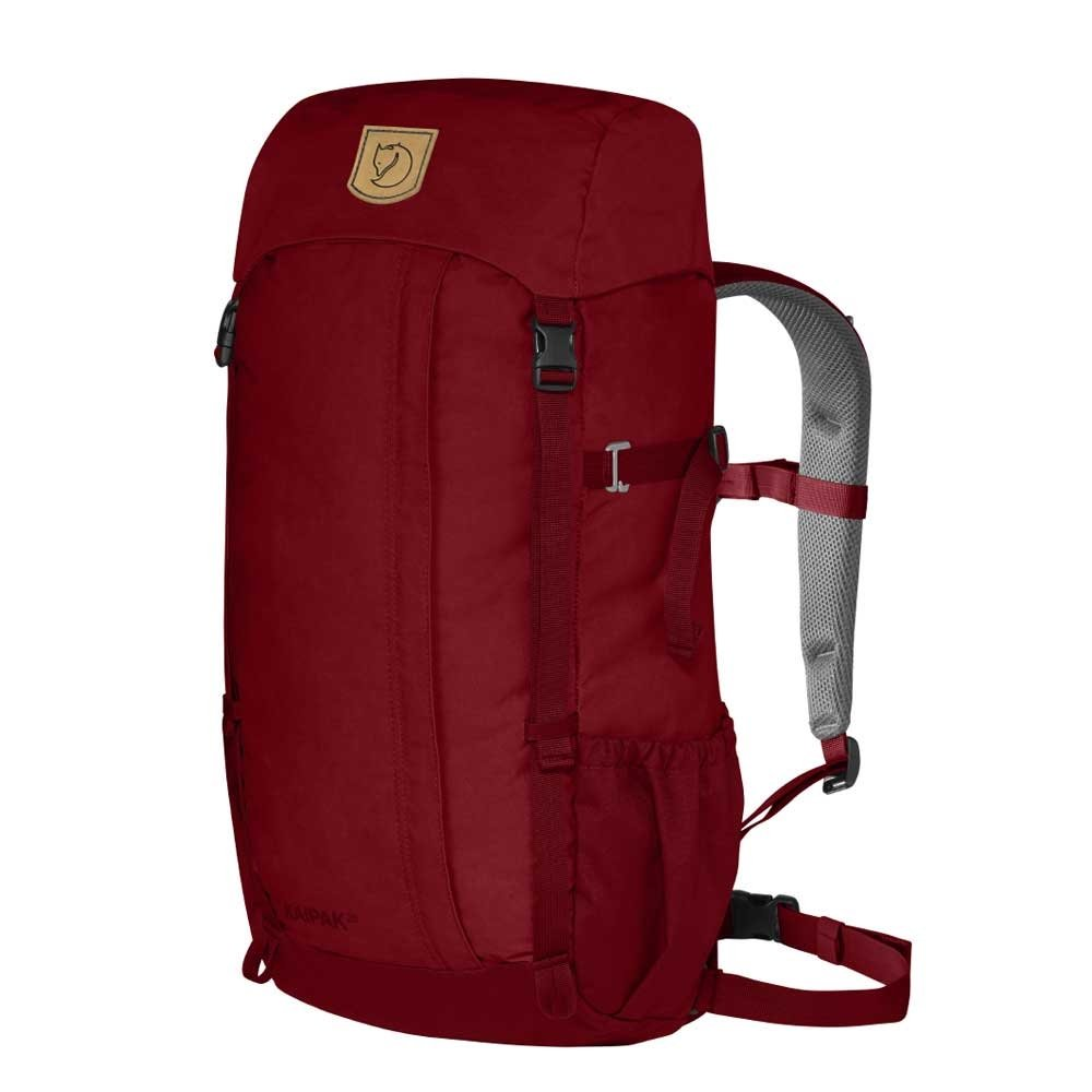 Fjallraven Kaipak 28 redwood backpack