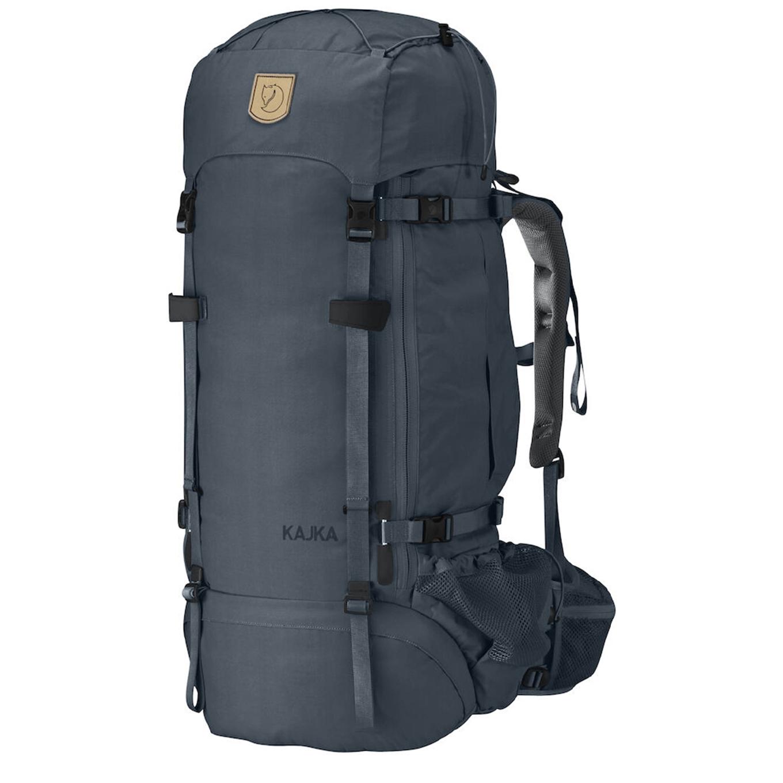 Fjallraven Kajka 65 W graphite backpack <br/>€ 354.00 <br/> <a href='https://tc.tradetracker.net/?c=15082&m=779702&a=107398&u=http%3A%2F%2Fwww.travelbags.nl%3A80%2Ffjallraven-kajka-65-w-graphite.html' target='_blank'>Bestellen</a>