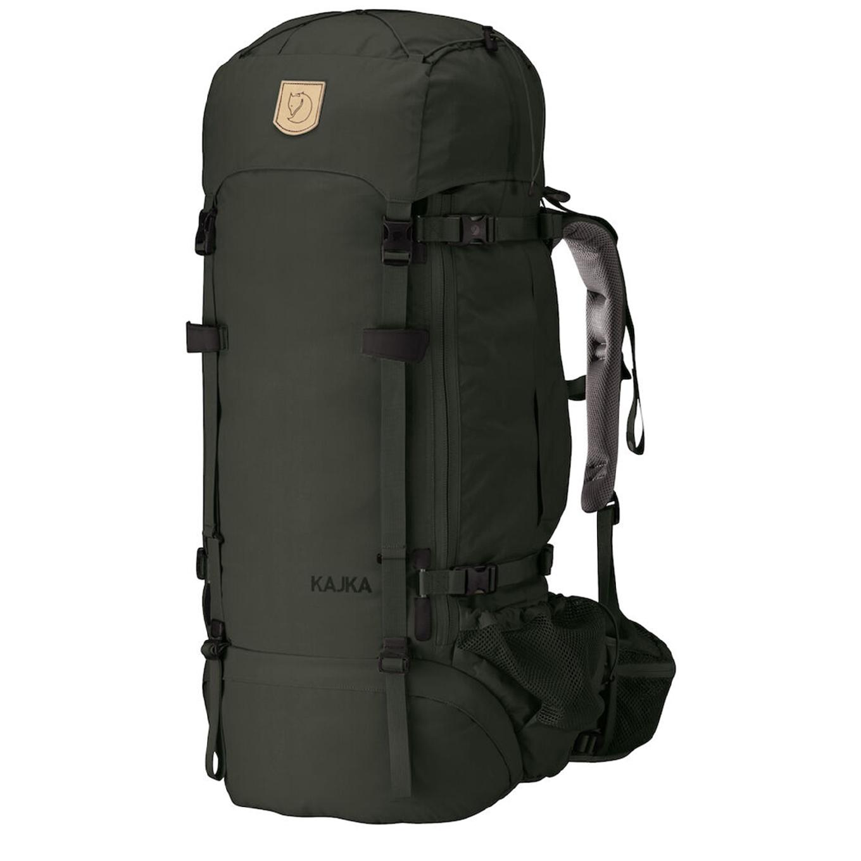 Fjallraven Kajka 65 forest green backpack <br/>€ 354.00 <br/> <a href='https://tc.tradetracker.net/?c=15082&m=779702&a=107398&u=http%3A%2F%2Fwww.travelbags.nl%3A80%2Ffjallraven-kajka-65-forest-green.html' target='_blank'>Bestellen</a>