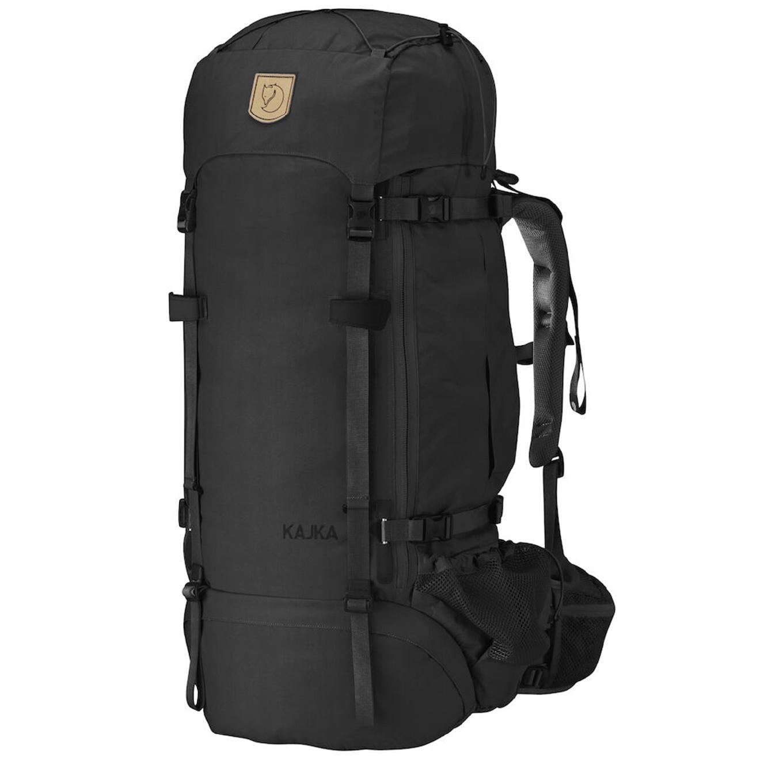 Fjallraven Kajka 75 black backpack <br/>€ 374.00 <br/> <a href='https://tc.tradetracker.net/?c=15082&m=779702&a=107398&u=http%3A%2F%2Fwww.travelbags.nl%3A80%2Ffjallraven-kajka-75-black.html' target='_blank'>Bestellen</a>