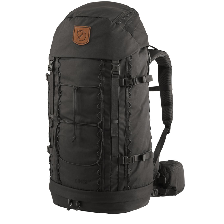 Fjallraven Singi 48 stone grey backpack <br/>€ 279.00 <br/> <a href='https://tc.tradetracker.net/?c=15082&m=779702&a=107398&u=http%3A%2F%2Fwww.travelbags.nl%3A80%2Ffjallraven-singi-48-stone-grey.html' target='_blank'>Bestellen</a>