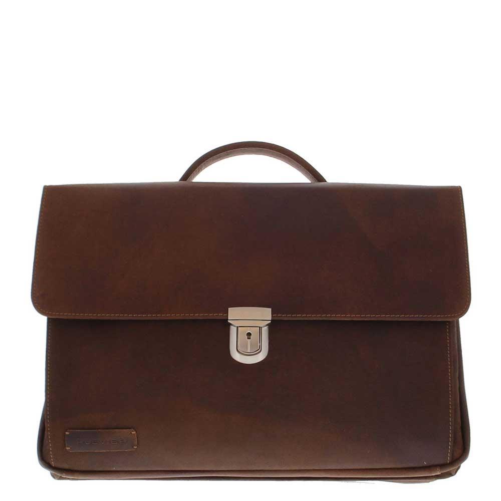Plevier 36-2 laptoptas 17.3'' bruin