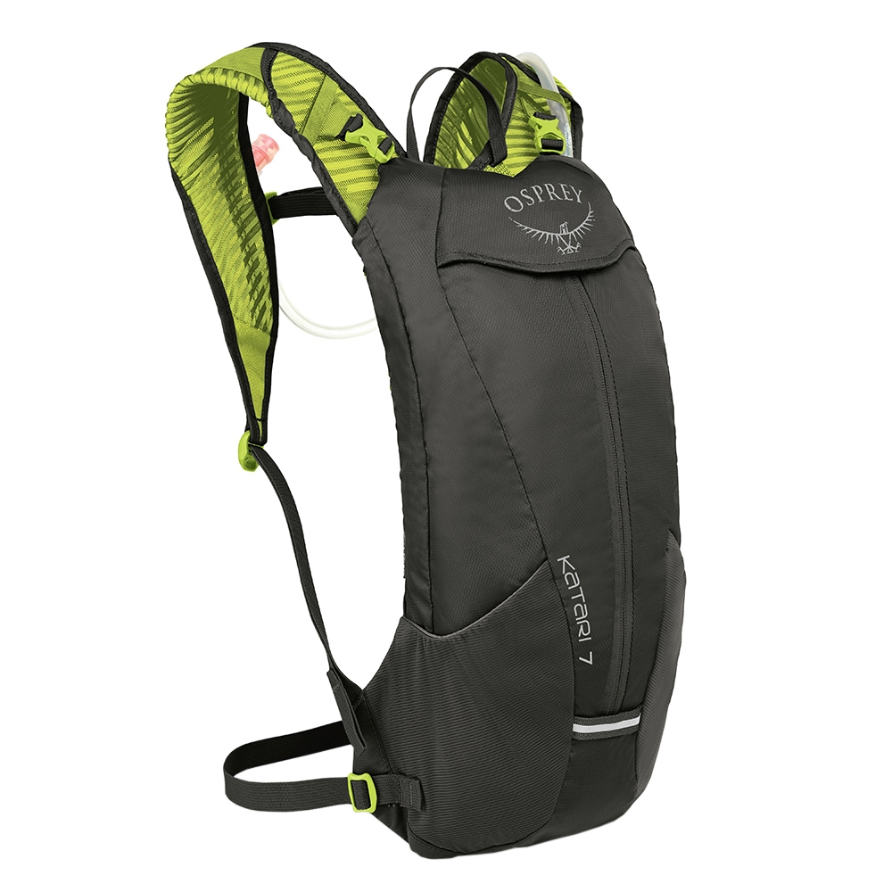 Osprey Katari Hydration Backpack 7L lime stone backpack