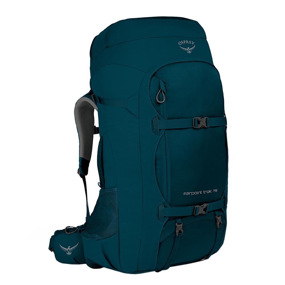 Osprey Farpoint Trek 75 petrol blue backpack <br/></noscript><img class=