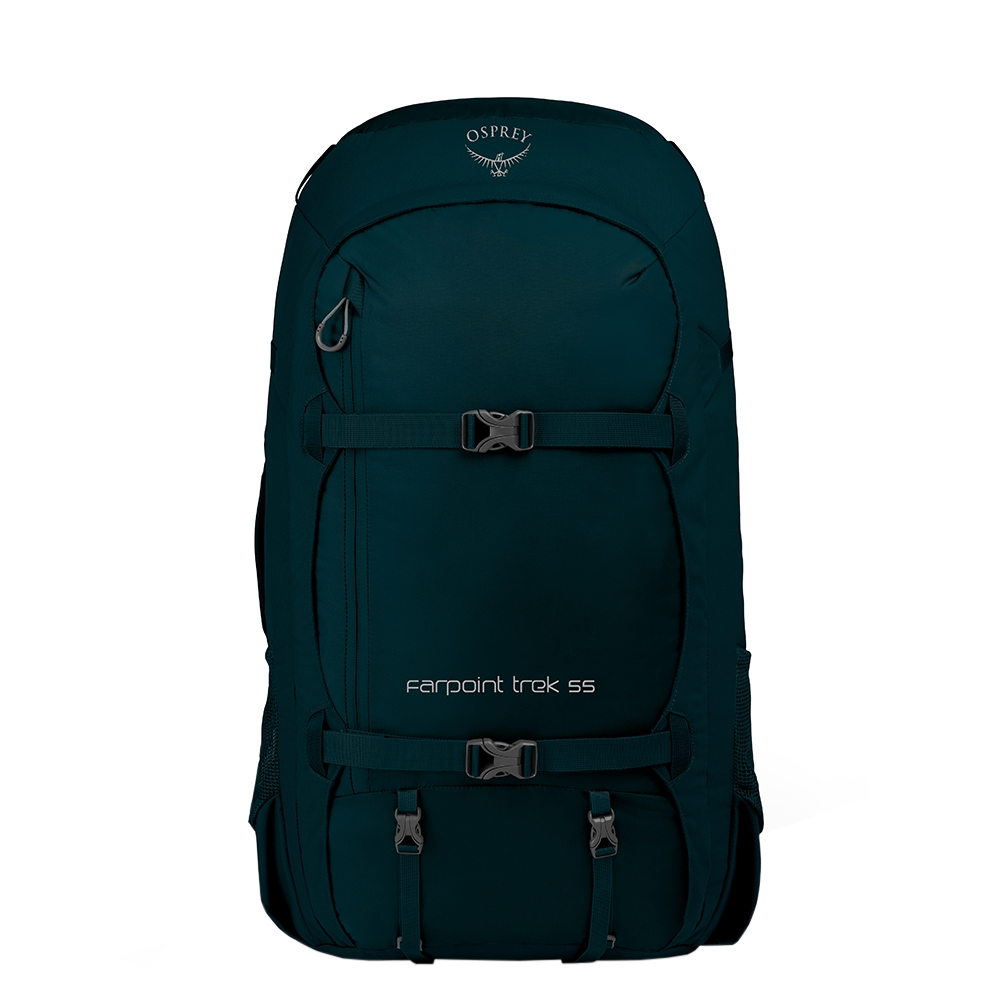 Osprey Farpoint Trek 55 petrol blue backpack