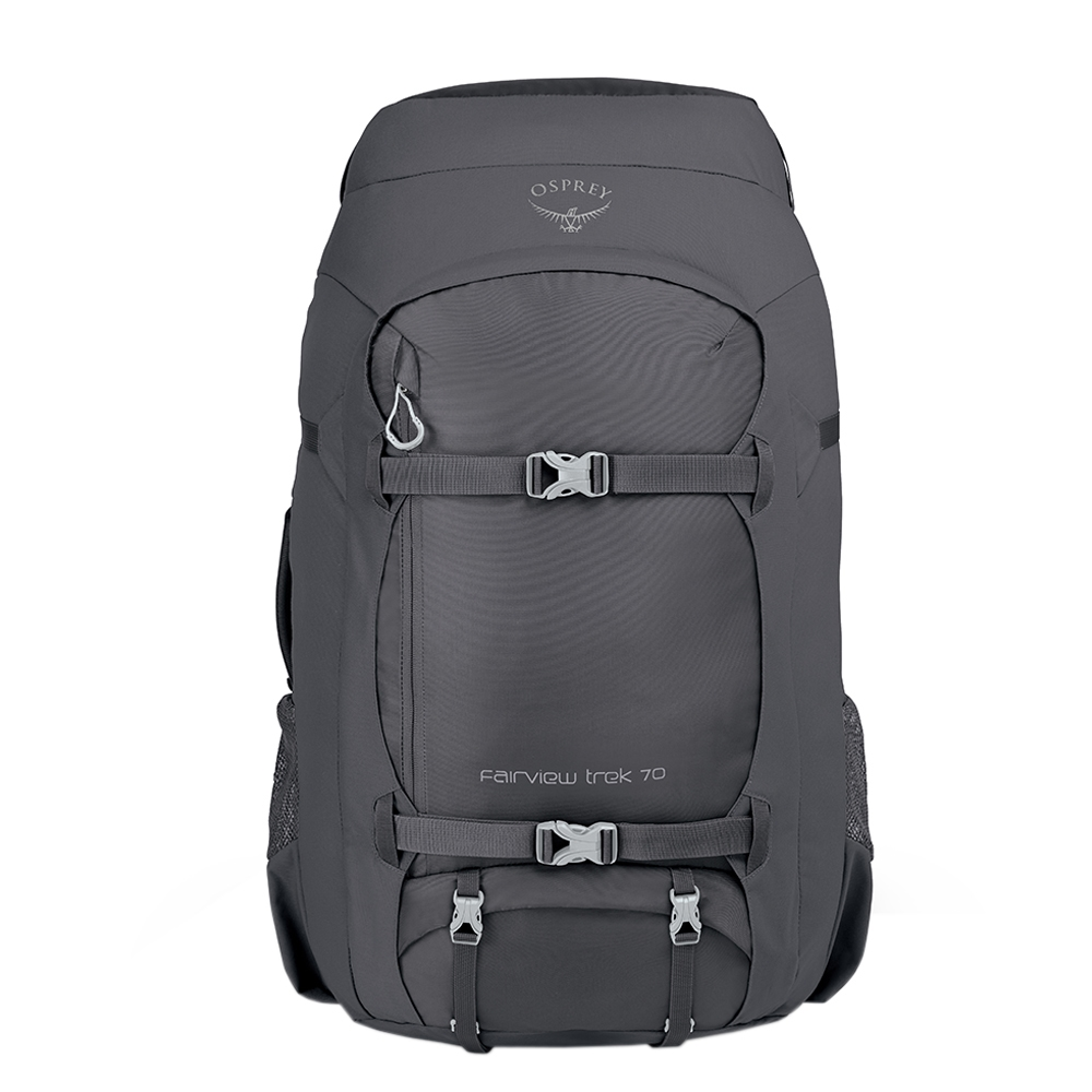 Osprey Fairview Trek 70 charcoal grey backpack <br/></noscript><img class=