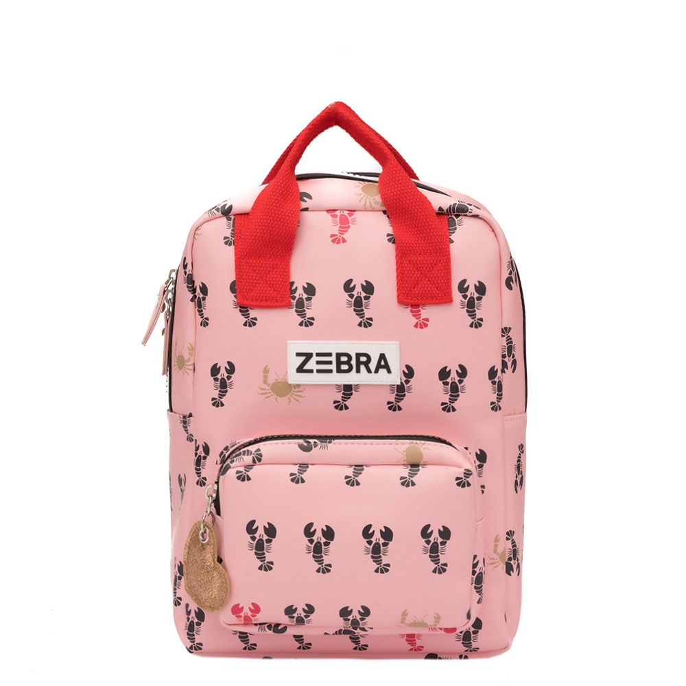 Zebra Trends Girls Rugzak S Vierkant lobster Kindertas