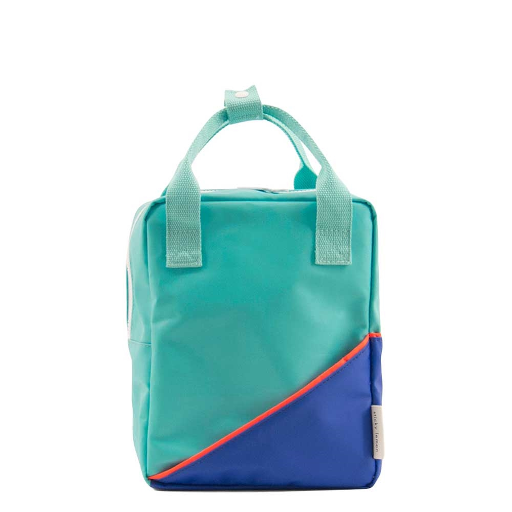 Sticky Lemon Original Backpack Small retro mint / ink blue Kindertas