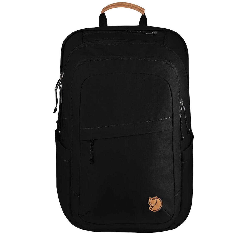 Fjallraven Raven 28 black backpack